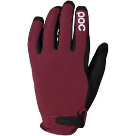 POC Resistance Enduro Handschuhe Adjustable rot